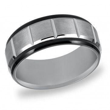 Triton, Tungsten Carbide 9mm Comfort Fit Wedding Band
