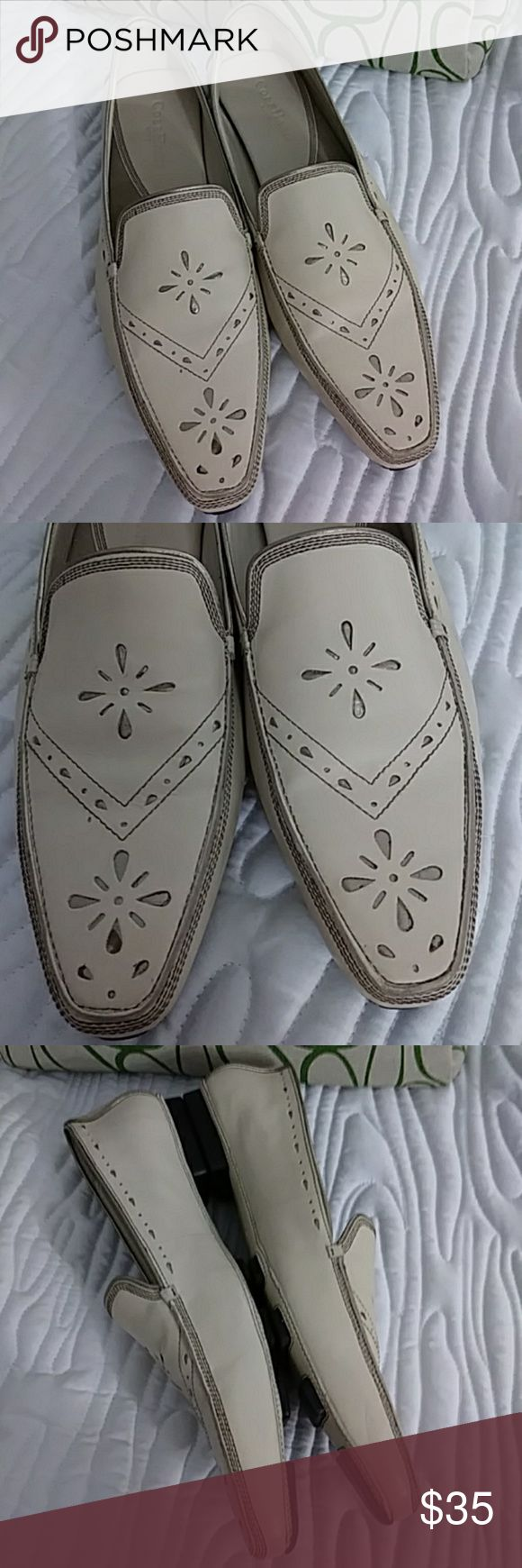 Unique Cole Haan city leather loafers