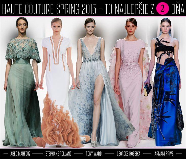 Luxusná móda Haute Couture pre jar 2015: to naj z druhého dňa! | Moda.sk