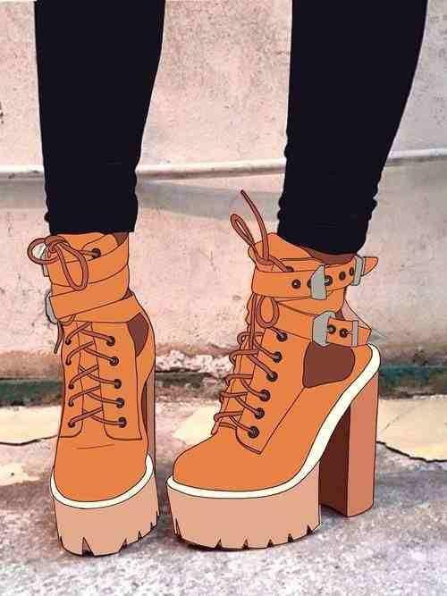 Image via We Heart It https://weheartit.com/entry/140074651/via/18492300 #digital #draw #fashion #illustration #love #shoes #style #jeffreycampbell