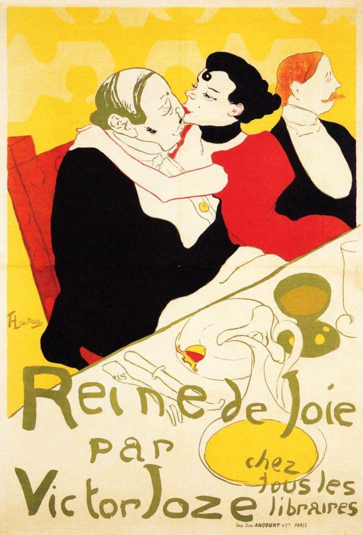 HENRI DE TOULOUSE-LAUTREC. Reine de Joie. 1892.