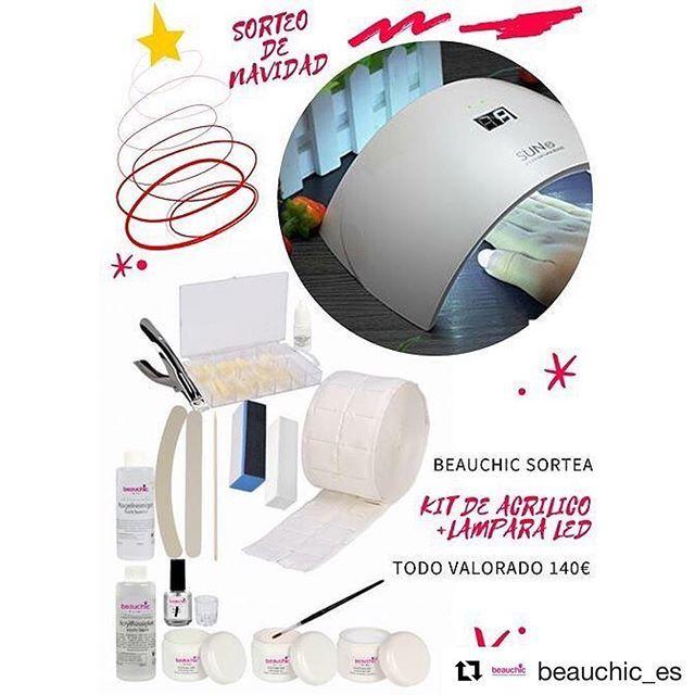🎁 🎄 🎅 ¡Celebramos la #Navidad con este #SORTEO! ¡Consigue Este Kit de Acrílico de la Marca @beauchic_es y una Lámpara Led Automática (todo valorado por 140€)!!! ➡ Para participar deja un COMENTARIO en el post mencionando a tus amigas y dile ¿Porque te gustaría recibir este Regalo?. 🎁🎁🎁 ➡ Sigue a nuestras embajadoras: ⬇️⬇️⬇️ @maria.snchz.fbn  @Estystyle y @Nushkabfbg  y no te olvides compartir 🔄 ➡ Tienes tiempo hasta el 3 de Enero 2018 a la/s 10:45 para participar. ¡Recuerda seguir…