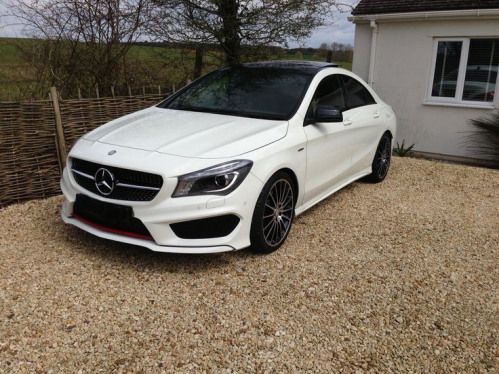 Mercedes Cla250 4matic Engineering By Amg With 19 Alloys 2016