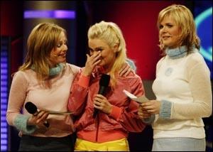Solveig Kloppen og makkeren i andre runde av Idol