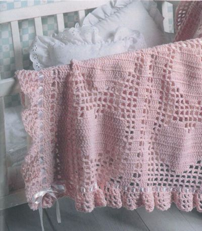 http://www.leisurearts.com/blog/2015/04/hearts-bows-baby-afghan/