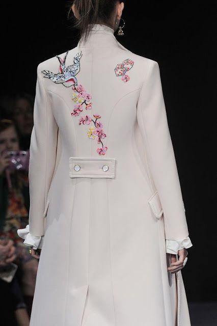 coolchicstylepensiero:  Temperly London Fall/Winter 2016-2017 London Fashion Week