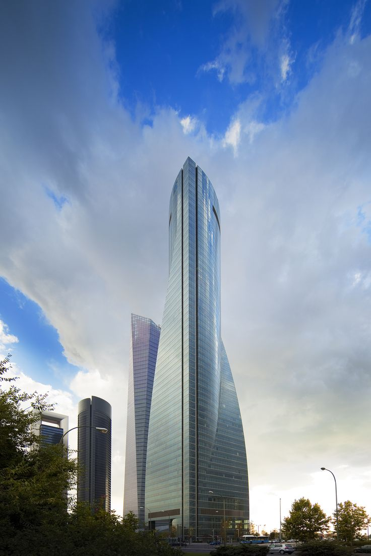 Torre Espacio, Madrid | Pei Cobb Freed & Partners | Archinect