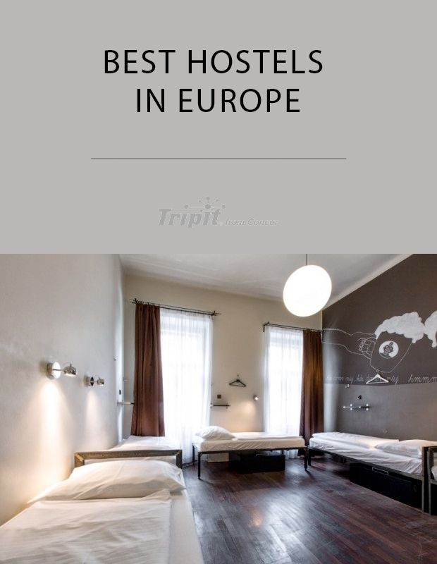 Traveling on a budget? Check out our list of the best hostels in Europe!