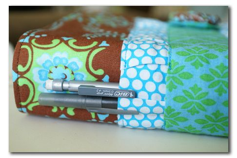 Handmade fabric Bible cover... and a surprise • A Time for Everything