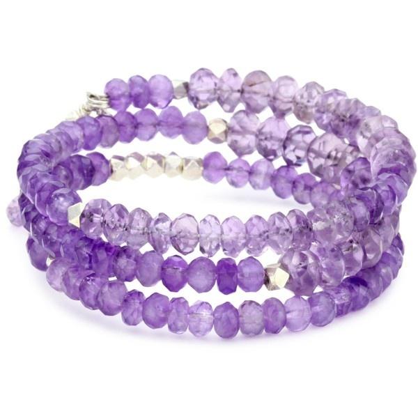MINU Jewels Amethyst Stack Bracelet: Jewelry Stores, Amethysts Stacking, Minu Jewels, Jewels Amethysts, Things Bling, Purple Bling, Stacking Bracelets, Bracelets 55, Jewelry Boxes