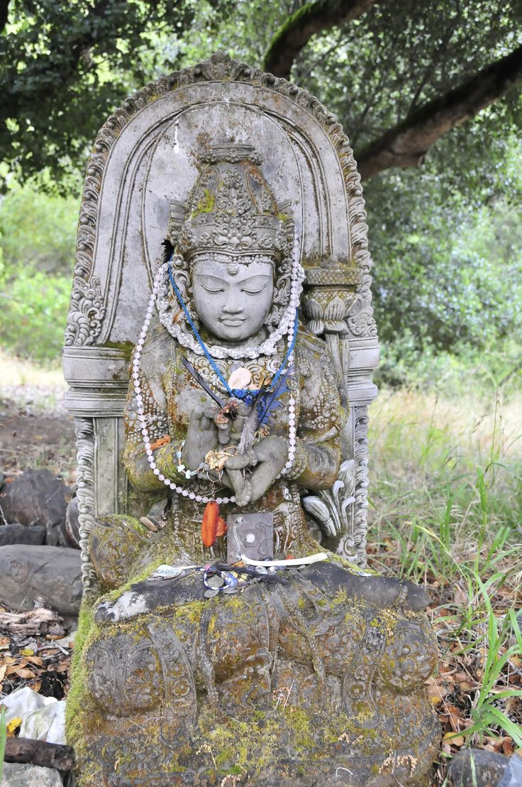 """PRAJNAPARAMITA at Spirit Rock Meditation Center.  She is known as """"The Female Form of Transcendental Wisdom"""" and  """"The Mother of the Buddhas"""""""