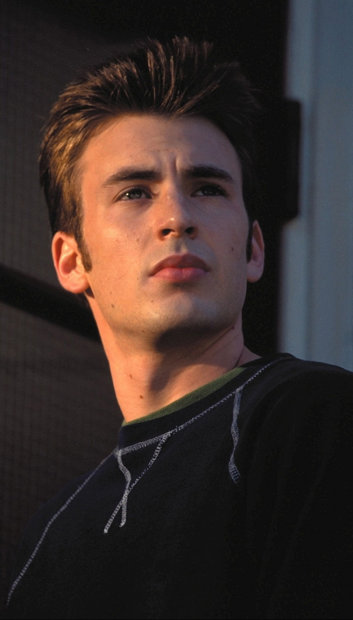 A Younger Chris Evans