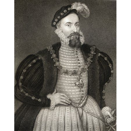 Henry Grey Duke Of Suffolk 3Rd Marquess Of Dorset Lord Ferrers Of Groby Lord Harington Lord Bonville 1517-1554 Father Of Lady Jane Grey From The Book LodgeS British Portraits Published London 1823 Ca