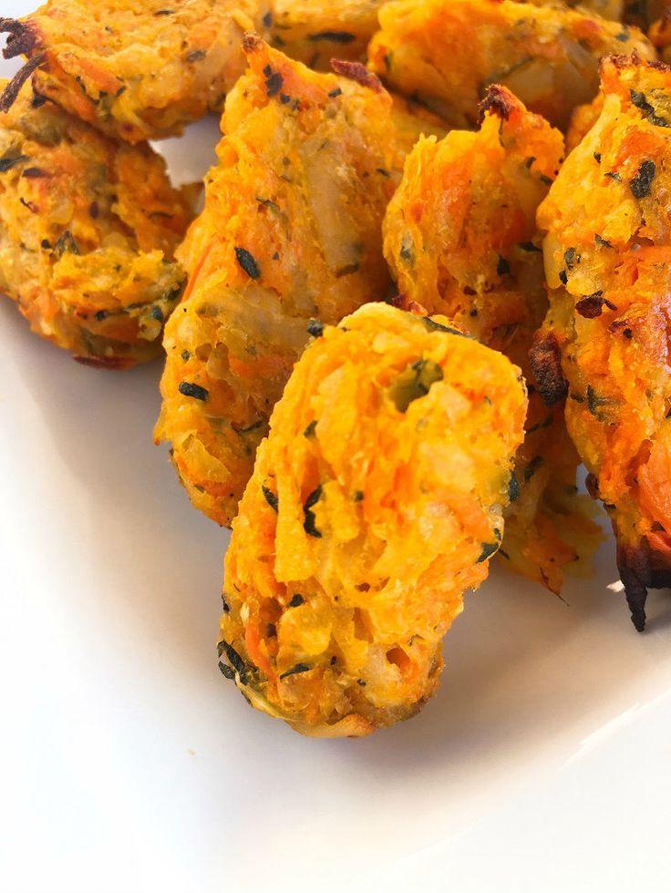 Zucchini Tater Tots! SOOOO GOOOD. | Blogilates: Fitness, Food, and lots of Pilates | Bloglovin'