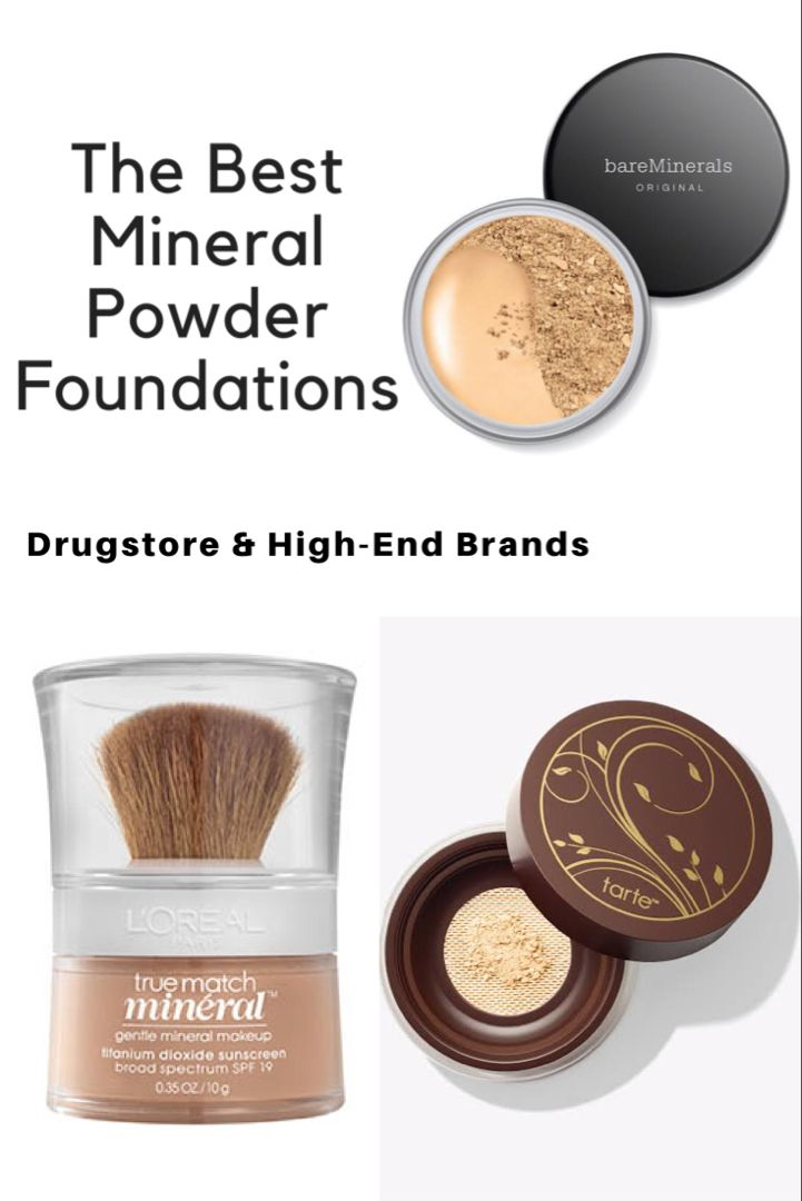 Best Mineral Foundations Of 2020 Mineral Powder Foundations Mineral Makeup Foundation Mineral Powder Makeup Mineral Makeup Brands