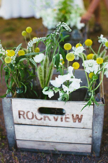 a backyard wedding in jackson hole rustic wedding flowersrustic vintage