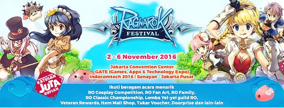 Ragnarok Festival 2016 Siap Digelar! Pastinya ada beragam event menarik di acara ini. Apa saja? Yuk simak info selengkapnya disini