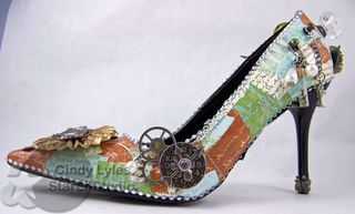 Fantastic Altered Shoe... steam punkesque