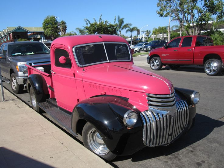 27 best My truck images on Pinterest | Pink truck, Vintage cars and