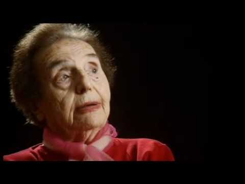 """Alice Sommer Herz, one of the oldest living survivors, has become well-known for her persistent optimism, as this video shows.     """"Everything is A Present"""" (Allegrofilms.com)"""