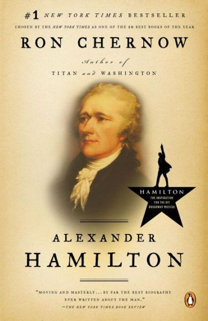In-Stock @ B&N! A New York Times Bestseller, and the inspiration for the hit Broadway musical Hamilton!  Pulitzer Prize-winning author Ron Chernow presents a landmark biography of Alexander Hamilton, the Founding Father who galvanized, inspired, scandalized, and shaped the newborn nation.