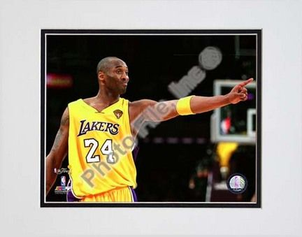 Kobe Bryant - 2010 NBA Finals Game 6 (#16) Double Matted 8â€� x 10â€� Photograph (Unframed): Enjoy this… #Sport #Football #Rugby #IceHockey