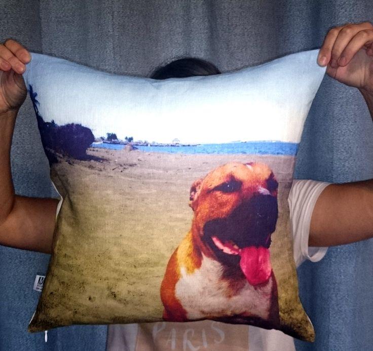 custom made cushions, digitally printed on quality linen and made in Australia www.kbfdesign.com.au