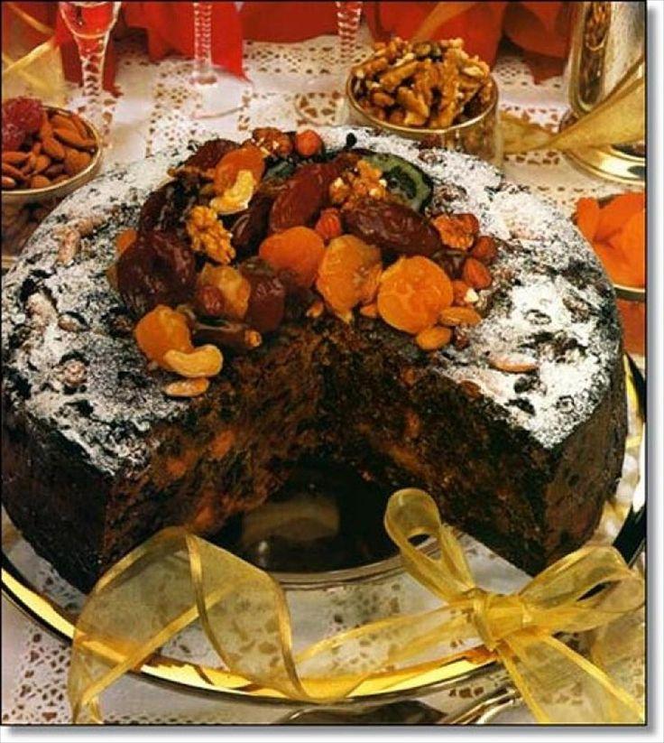 Torta Negra de Navidad