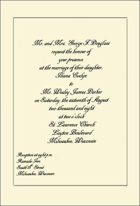 The 25+ best Invitation examples ideas on Pinterest Wedding - formal invitation