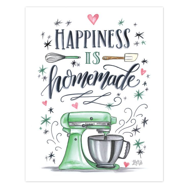 Happiness is Homemade – Print