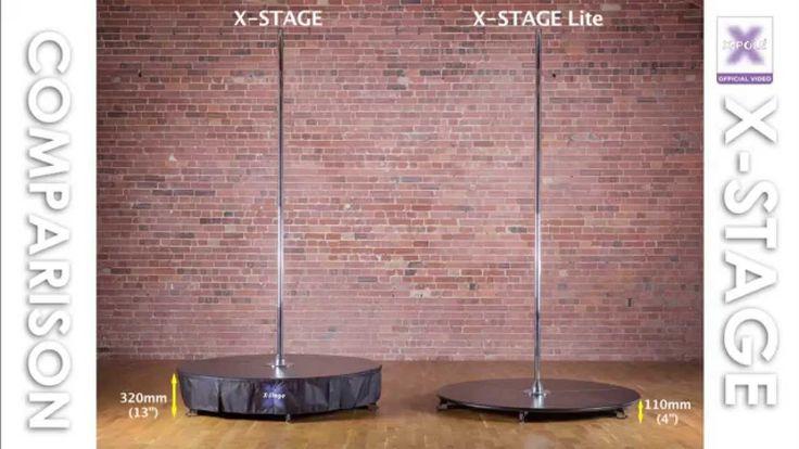 X-Stage vs. X-Stage Lite #Xpole #Xpolelife
