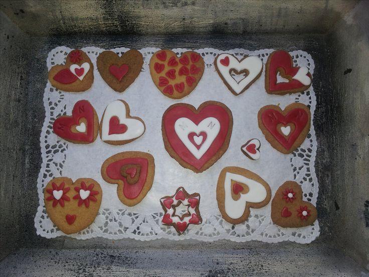 Valentijn koekjes #valentine#cookies