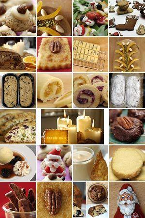 Rezepte für die Weihnachtsbäckerei
