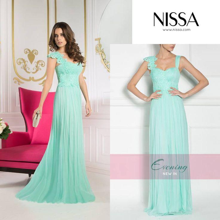 www.nissa.com  #nissa #evening #silk #maxi #mint #glam #dress #fashion #fashionista #style #stylish #look #diva