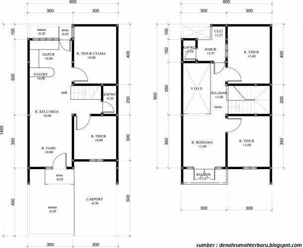 Desain Tipe Rumah Minimalis 2019 Dari Yang Terkecil Sampai Termewah Rumah Minimalis Minimalis Rumah