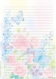 Resultado de imagen para hojas para escribir decoradas