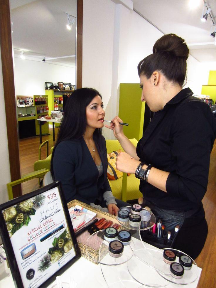 Chartreuse Style celebration beauty event - #beautyevent #nontoxic #cosmetics #greenbeauty