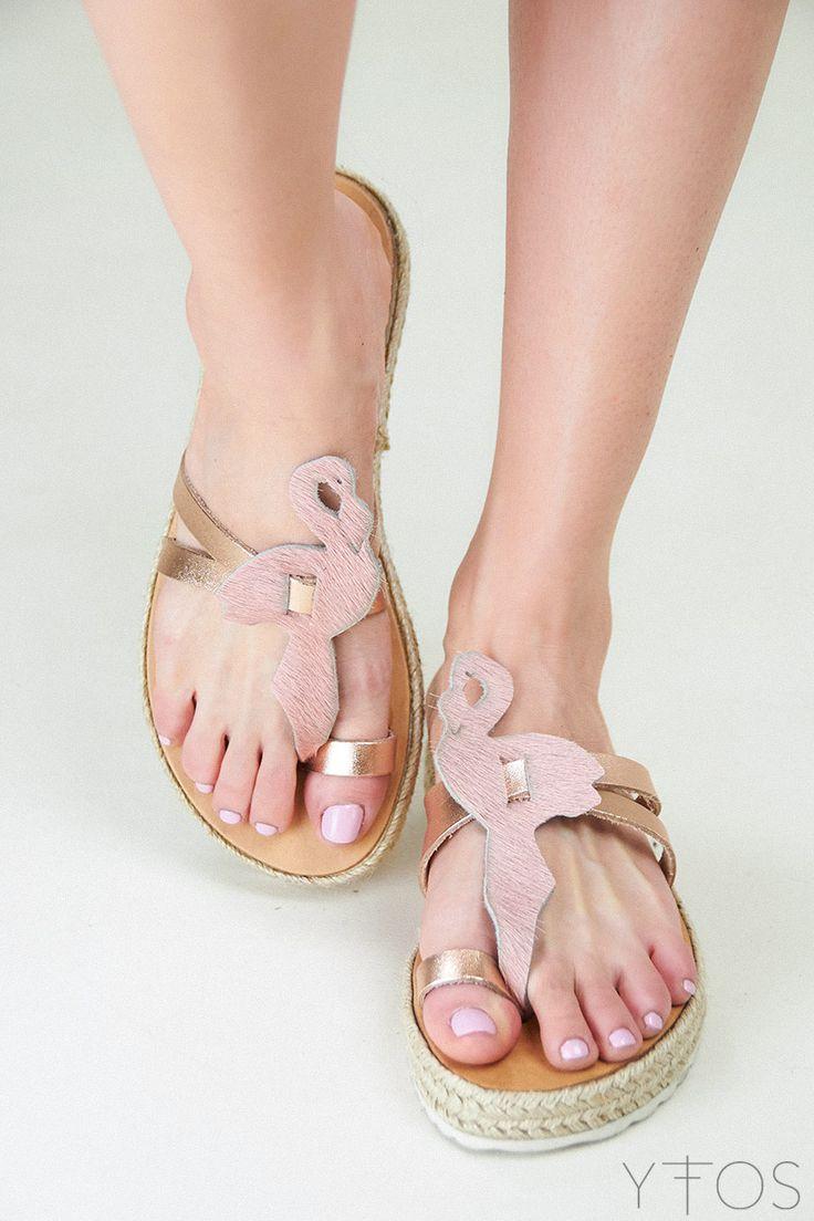 Yfos Online Shop | Shoes | Flamingo Affair Sandals by De.bour