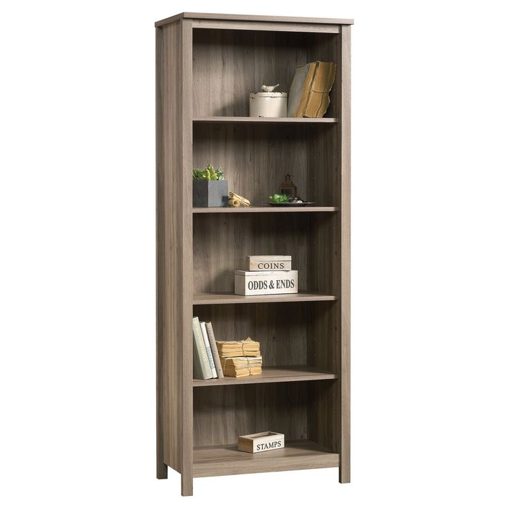 County Line 5 Shelf Bookcase Library
