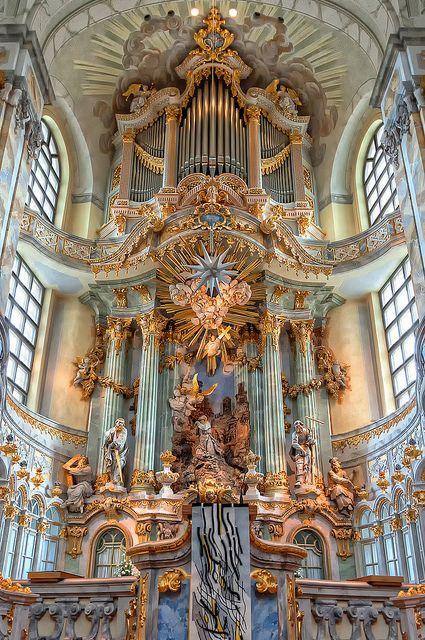 Frauenkirche. Dresden, Germany