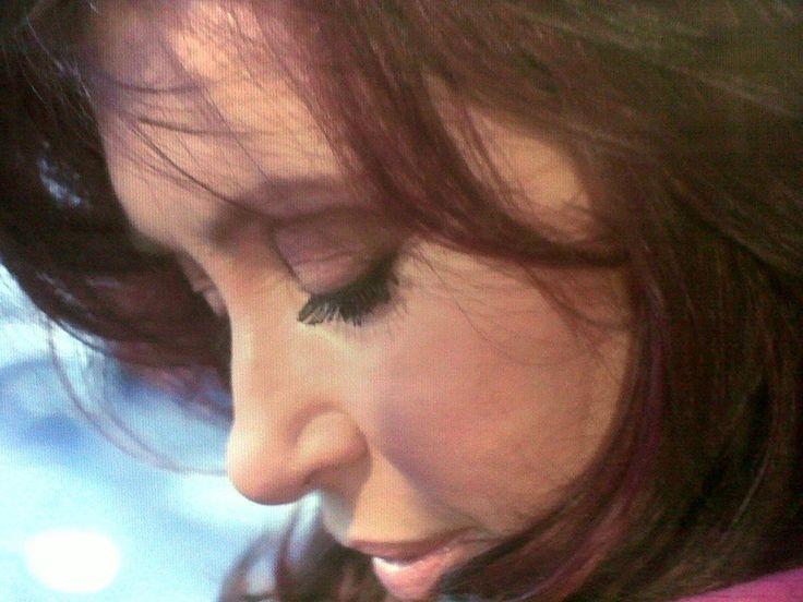Mi Presidenta: #CFK  La misma que tienen 40 millones de argentinos