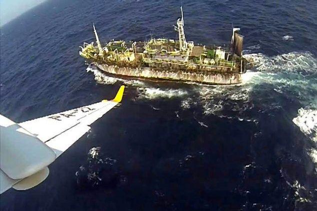 China para a Argentina, no caso do barco de pesca: não façam isso de novo!