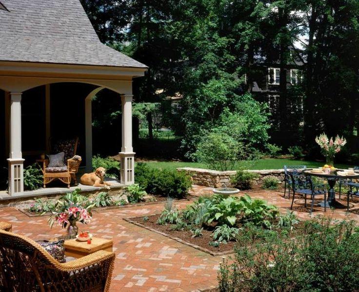 aménagement petit jardin et maison devant