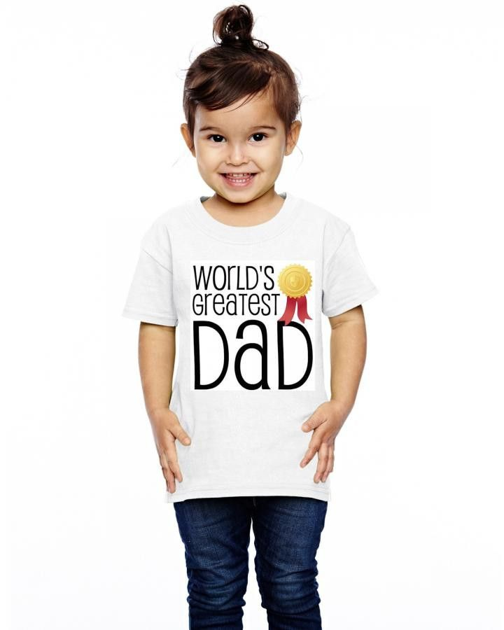 World's greatest dad Toddler T-shirt