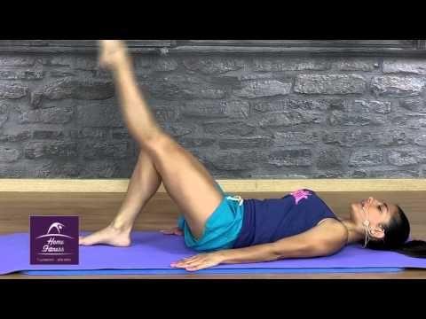 On line γυμναστική από το σπίτι_ Pilates με τη Μαρία - YouTube