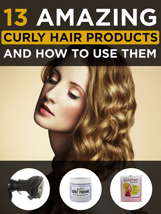 Use products specifically made for curly hair and learn how to use them properly.   17 Important Tips For Making The Most Of Curly Hair