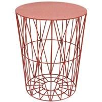 Wire Table Coral - http://idealhomechoices.com/wire-table-coral/