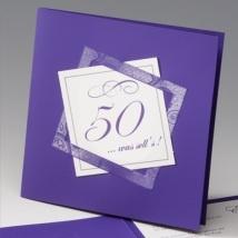 Geburtstagseinladung 50. Geburtstag
