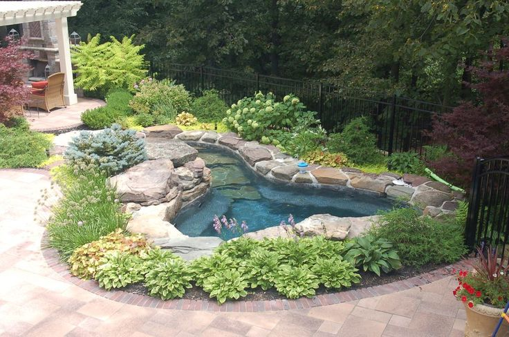 Rustic Hot Tub with Fence, Trellis, exterior tile floors