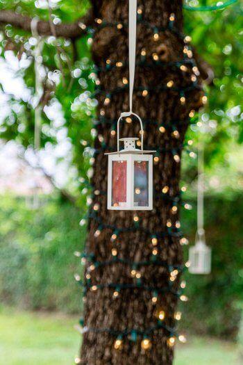 Baum Lichterkette In 2019 Hochzeitsdeko Tree Wedding Garden Und
